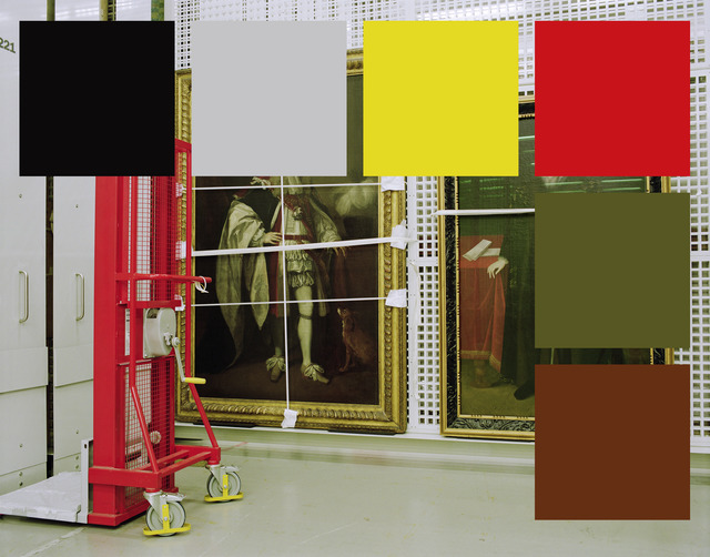 , 'A Palette For Two Williams (Russell And Cecil) In Rack 227,' 2015, Kopeikin Gallery