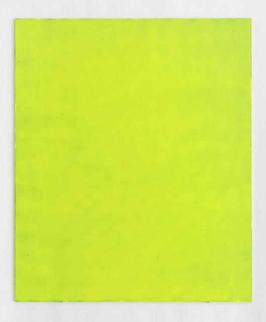 , 'Sous-chrome 12,' 2017, Galerie Greta Meert