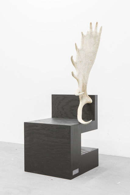 , 'Stag Chair Black Playwood (Right),' 2007, Carpenters Workshop Gallery