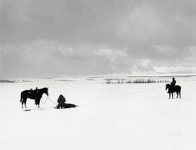 Kurt Markus, 'YP Ranch, Tuscarora, Nevada', 1981, Photography, Gelatin Silver Print, Staley-Wise Gallery