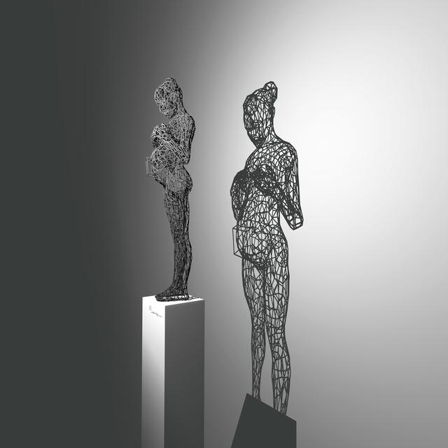 , 'Cyber Pregnant ,' 2014, Joerg Heitsch Gallery