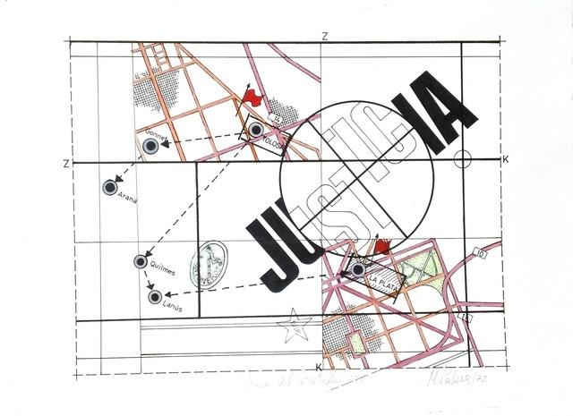 , 'Justicia (de la serie Toma del Batallon 601),' 75, Document Art