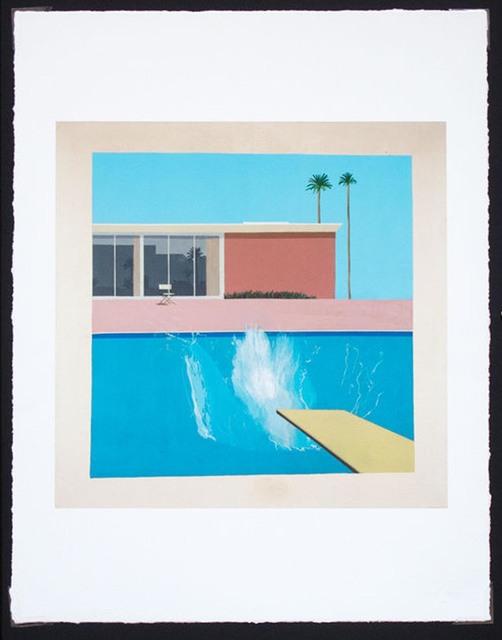 David Hockney, 'A Bigger Splash', 2017, EHC Fine Art Gallery Auction