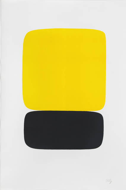 Ellsworth Kelly, 'Yellow over Black', 1964-1965, Susan Sheehan Gallery