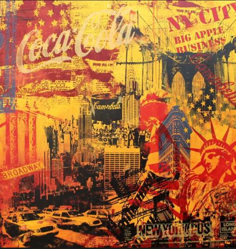 Michel Friess, 'Big New York Yellow', 2013, Soho Contemporary Art