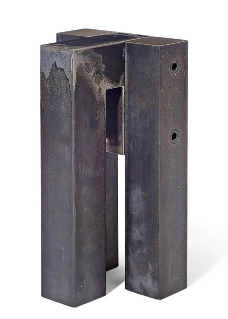 James Licini, 'Stahlbau', 2010, Sculpture, Solid profile, welded and screwed, Koller Auctions