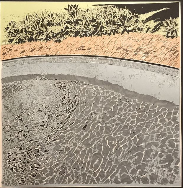 , 'Pool,' 2017, Davidson