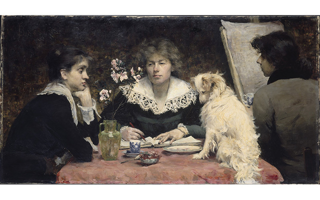 , 'The Friends (Les amies),' 1881, American Federation of Arts