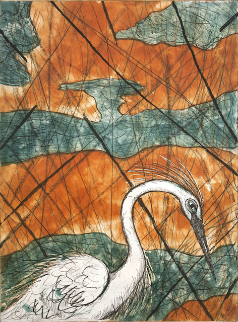 , 'Snowy Egret ,' 2015, William Reaves | Sarah Foltz Fine Art
