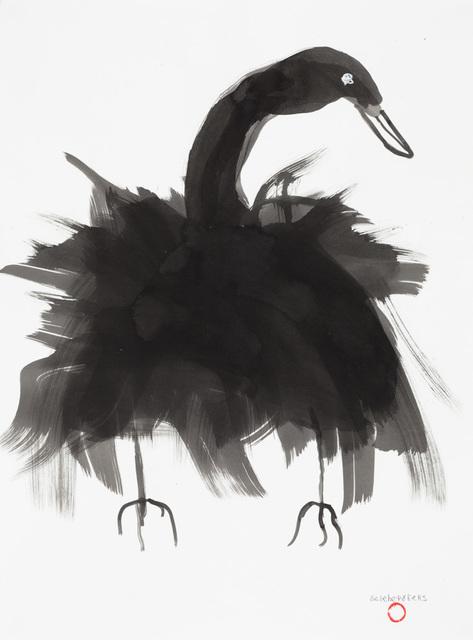, 'Untitled (Black Bird),' 2018, Creativity Explored