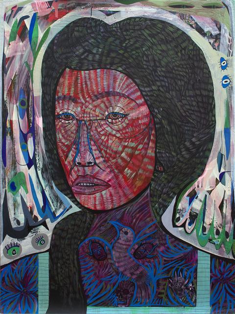 , 'Purple Woman,' 2017, Galerie Matthew Namour