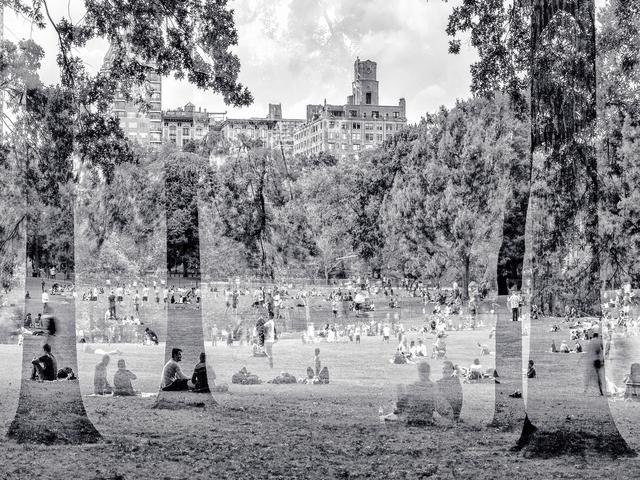 , 'Déjeuner sur l'herbe (New York, USA),' 2014, Galerie de Bellefeuille