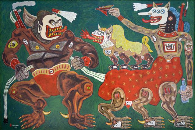 , 'The Loyal Barong,' 2012, The Columns Gallery