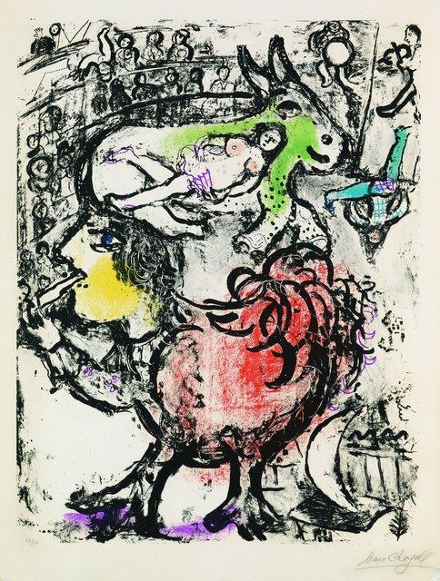 , 'Pirouette au Cirque,' 1961, Galerie Raphael
