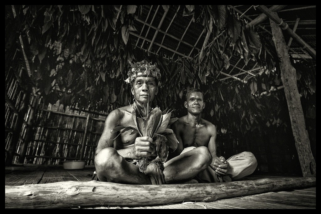 Medicine men of the Temiah Tribe in Kelantan, Malaysia
