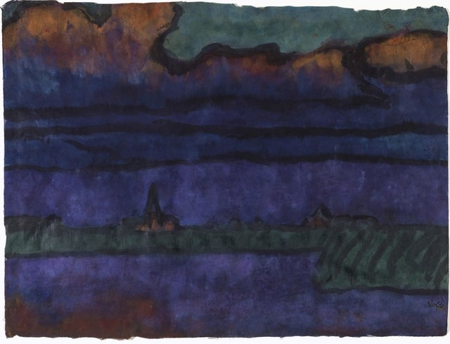 , 'Dorf am Koog (Village by the Polder),' ca. 1930, Galerie Thomas