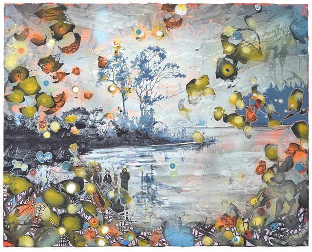 Andrea Damp, 'Jeden ganzen halben Tag', 2020, Painting, Oil and acrylic on canvas, Galerie Barbara von Stechow