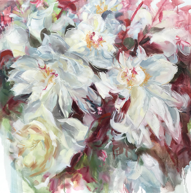 Jamie Evrard, 'Peonies Noted Briefly', 2019, Bau-Xi Gallery
