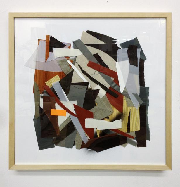 , 'Hingelegte Collage,' 2013, Gestalten