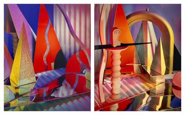 , 'Diptych II Construct XXX-XXIX,' 1985, Gallery Luisotti