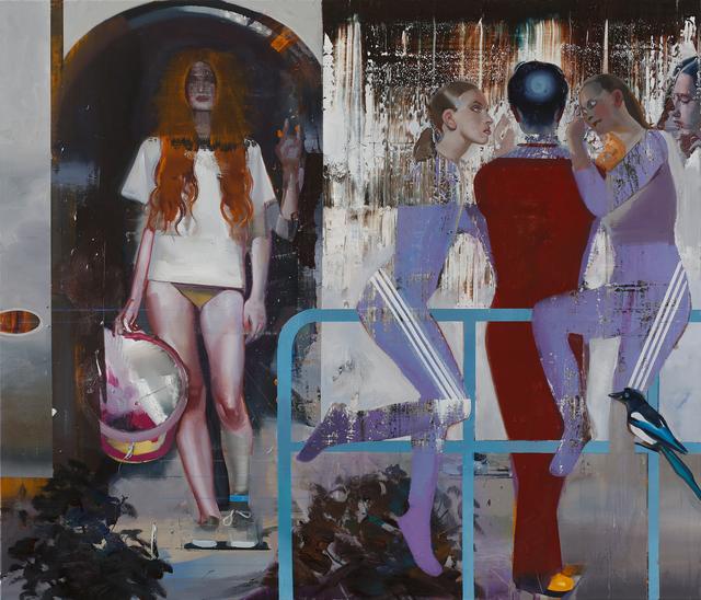 , 'Elsterbad,' 2018, Josef Filipp Galerie
