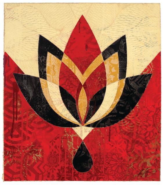 , 'Bleeding Lotus, Version 4,' 2018, Galerie Ernst Hilger