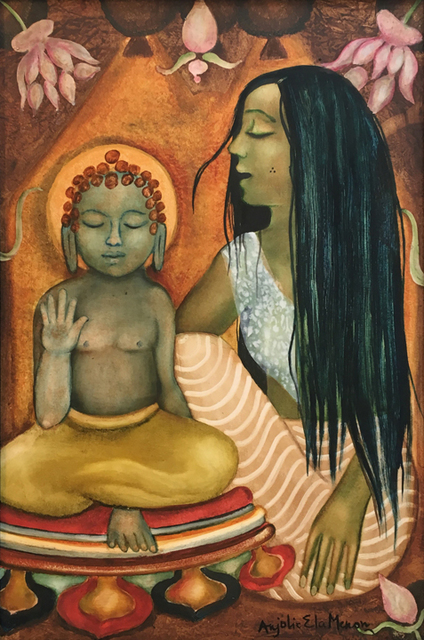 , 'Divine Mothers Series-Maya with Guatama,' 2016, Aicon Gallery