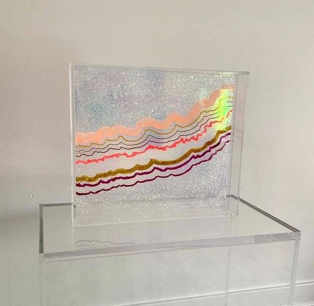 , 'SYMPHONIC WORLD #4 - TRAY SCULPTURE,' 2018, Kristi Kohut Studio Gallery