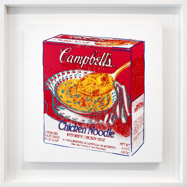 , 'Chicken Noodle Soup Box,' 1986, David Benrimon Fine Art