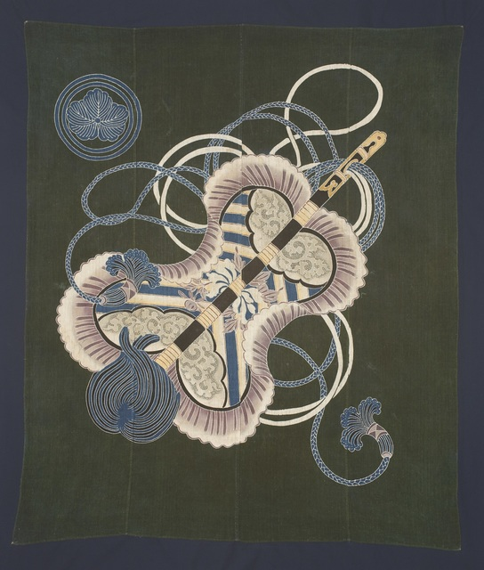 , 'Wrapping Cloth (furoshiki),' 19th Century, Seattle Art Museum