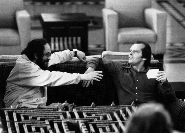 , 'Stanley Kubrick and Jack Nicholson on the set of The Shining,' 1978-1980, Contemporary Jewish Museum