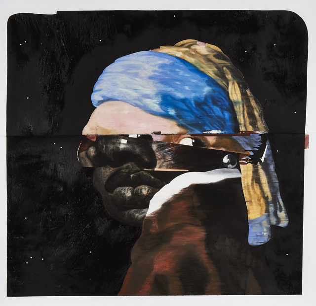 Nathaniel Mary Quinn, 'Erica with the Pearl Earring ,' 2015, Rhona Hoffman Gallery