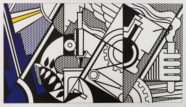 Roy Lichtenstein, 'Peace through Chemistry', 1970, Print, Lithograph, Hindman
