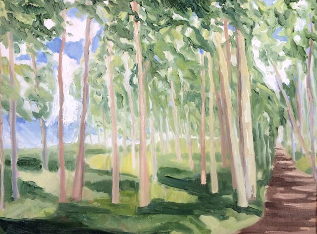 , 'Woods I,' 2017, InLiquid