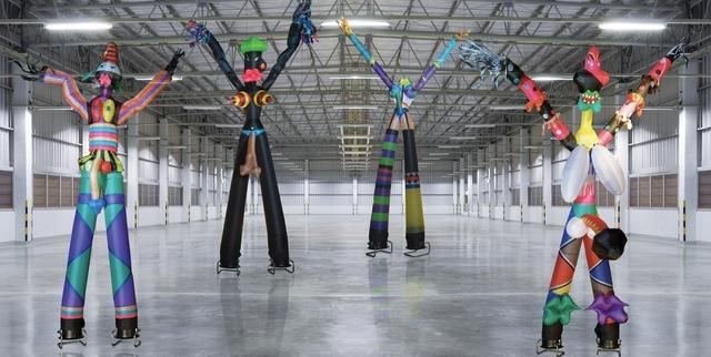 , 'Skydancers,' 2012, Dio Horia