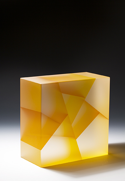 , 'Yellow Cuboid Fracture Segmentation,' 2014, Duane Reed Gallery
