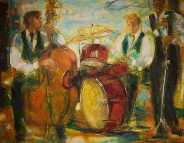 , 'Jazz,' , Nolan-Rankin Galleries