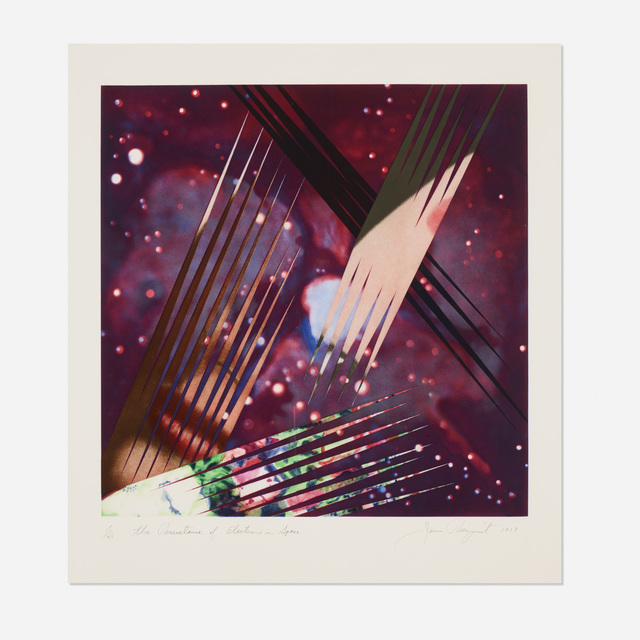 James Rosenquist, 'The Persistence of Electrons in Space', 1987, Wright