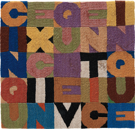 Alighiero e Boetti, 'Cinque x cinque venticinque,' 1988, Phillips: 20th Century and Contemporary Art Day Sale (February 2017)