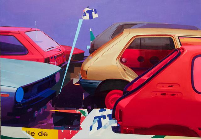 Zoer Fréderic Battle, 'Sacre Numero', 2018, Painting, Oil on canvas, sc gallery