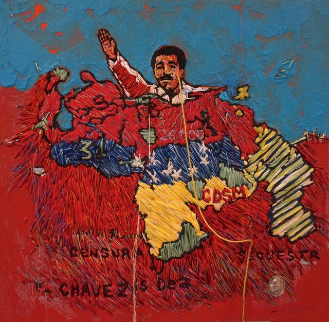 , 'Venezuelan Map (The Great Oppressor),' 2014, Linare/Brecht Gallery