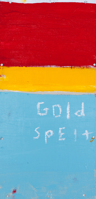 , 'Gold Spelt,' 2015, The Road Gallery