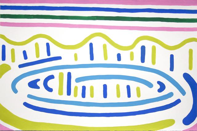 , 'Across the Lake, Pink Reflections,' 2016, Galerie Laroche/Joncas