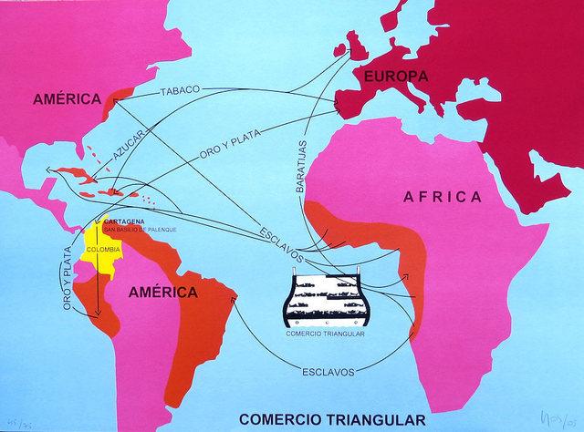 Ana Mercedes Hoyos, 'Colombian Comercio Triangular', 2005, RoGallery