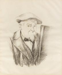 Portrait de Cézanne par lui-même