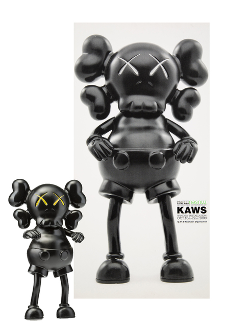 KAWS, 'BXH Real Mad Hectic Companion and New Museum poster', 2000, Mixed Media, Vinyl and poster, EHC Fine Art Gallery Auction