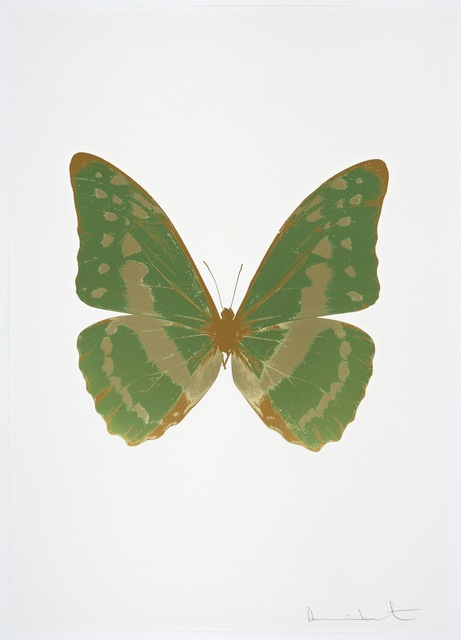 , 'The Souls III - Leaf Green/Cool Gold/European Gold,' 2010, Paul Stolper Gallery