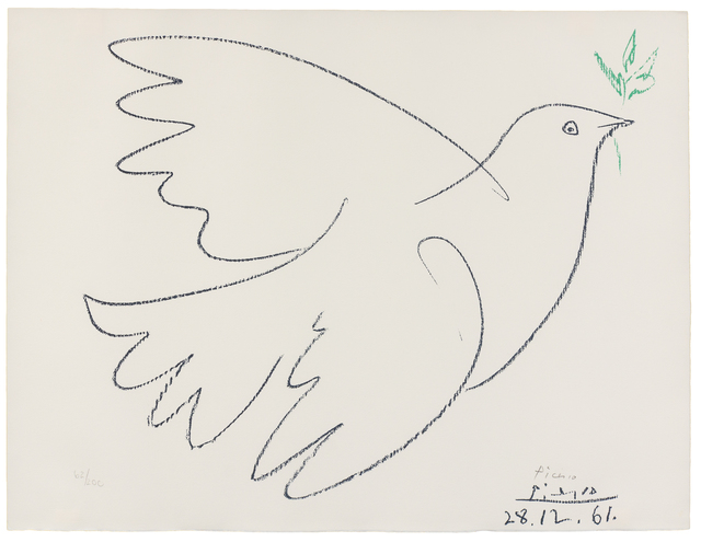 Pablo Picasso, 'Dove of Peace', Hindman
