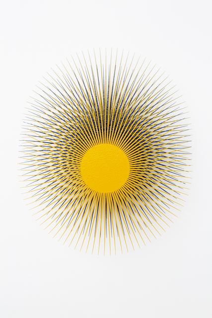 , 'Burst Star (Melon, Ultramarine, Gold),' 2018, Eleven Twenty Projects