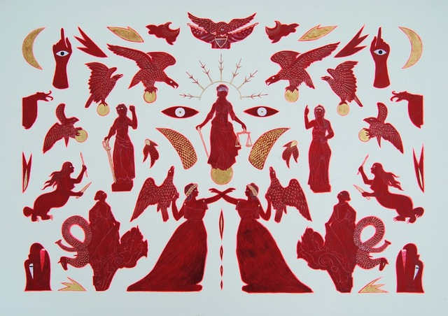 , 'Red,' 2018, Visions West Contemporary